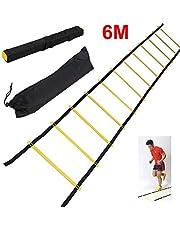 Scala Agilità Scaletta per Allenamento Calcio Esercizio velocità Fitness, 3M/6M
