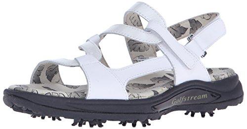 Golfstream Women's Spike Sandal Golf Shoe - Glitter White...