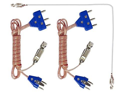 2-pin Body Cord (Sabre, Foil) (Equipment Sabre Fencing)