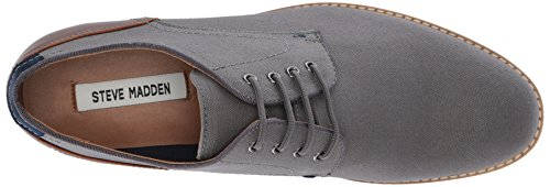 buy cheap store Steve Madden Men's Newstead Oxford Grey Fabric cheap fashionable PKcpU0Du