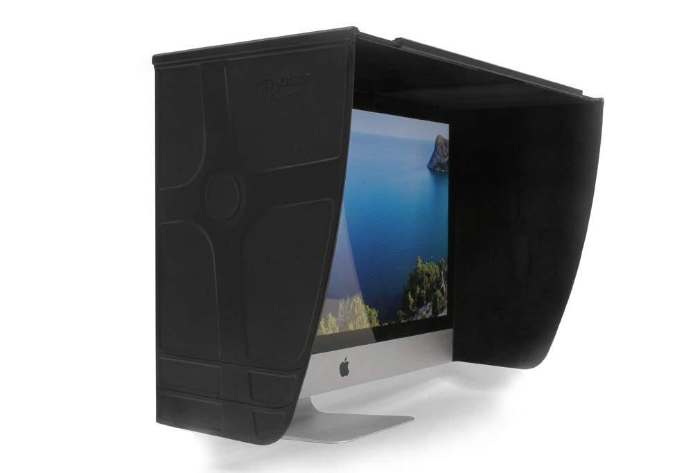 Cinematics Monitor Hood Pchood LCD Desktop Display Hood Computer Hood 15-25 Inch Adjustable
