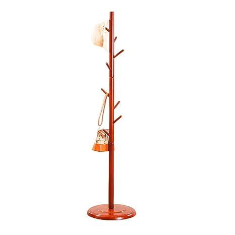 Amazon.com: Abrigo de pie de bambú en forma de árbol con 8 ...