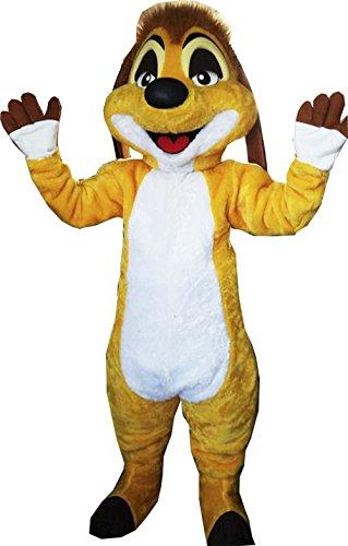 Timon Lion King Mascot Costume Adult (Timon Lion King Costume)