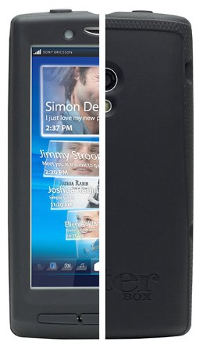 new arrival dc929 71e85 Otterbox Impact Case for Sony Xperia - Black: Amazon.co.uk: Electronics