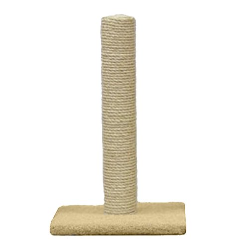 Classy Kitty 32' Sisal Cat Post 17x17x31.5, Color Varies