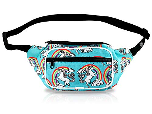Xiuzhifuxie Punk Waist Bag Womens Belt Bags Pointed Rivets PU Leather Waist Bag Snap Fanny Pack Adjustable Removable Belt with Waist Pouch Travel Bumbag Cell Phone Money Pouch Women Waist Pouch