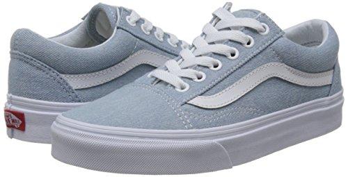 Unisex Blue Old Baskets Adultes Pour Vans Baby Denim Skool Basses xqPzYq7wZ