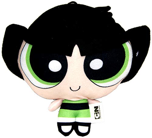 Powerpuff Girls Plush 3 Assorti,Plush Toy,Soft Toys,Official Licensed (Buttercup (Green))