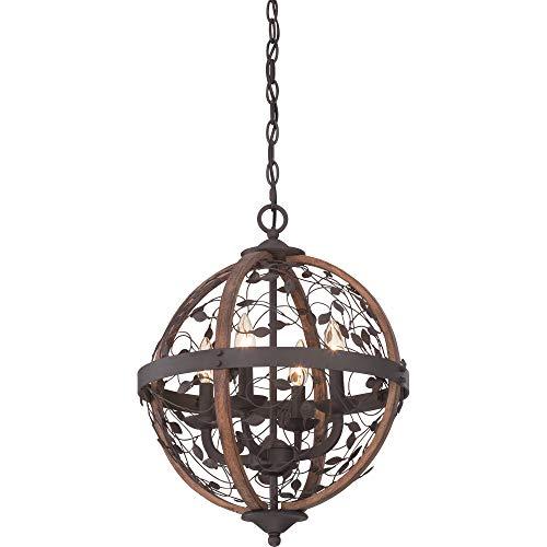Buy quoizel chb5204dk chamber foyer piece chandeliers