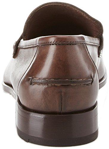 Calpierre 2208-n, Mocassini (Loafer) Uomo Marrone (Chocolate)