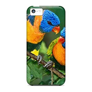 Excellent Design Colorful Birds Case Cover For Iphone 5c
