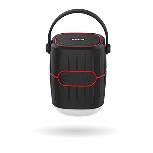 UBEttER Bluetooth Speaker, 8800mah Rechargeable LED Lamp Camping Lantern Portable Phone Charger Louder Speaker, Waterproof for Outdoor, Camping, Hiking, Jogging, Finshing, Emergencies and - Lantern Speaker Outdoor
