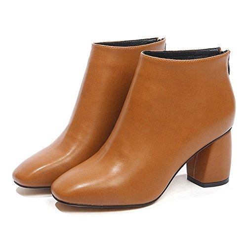 de Martin C 35 Tamaño Moda Tacón Tamaño 3 Salvaje GYHDDP Little Botitas Color Alto Opcional Zapatos Boots áspera Disponibles con Pequeñas Colores 1IHdqxS