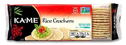 KaMe Rice Crackers - Wasabi - 3.5 oz - 1 each by Ka-Me (Image #1)