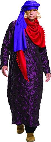 Zoolander And Mugatu Costumes (Rubie's Costume Co Zoolander 2 Hansel's Gold & Purple Costume & Wig, Multi,)