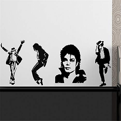 Vinyl Wall Sticker Mural Bible Letter Quotes Michael Jackson Thriller Poster Wall Home