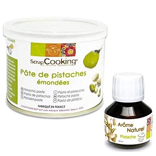 Pistachio paste + pistachio flavor