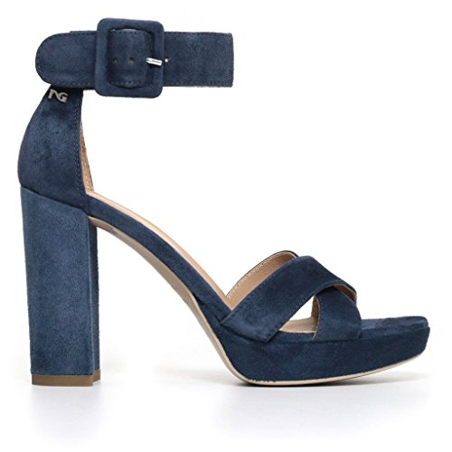 Nero Giardini Women's Shoes with Strap Blue o8TOv7Pfy5