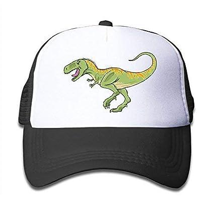 bb4f2b47 Amazon.com : Abdul. T-Rex Dinosaur On Kids Trucker Hat, Youth ...