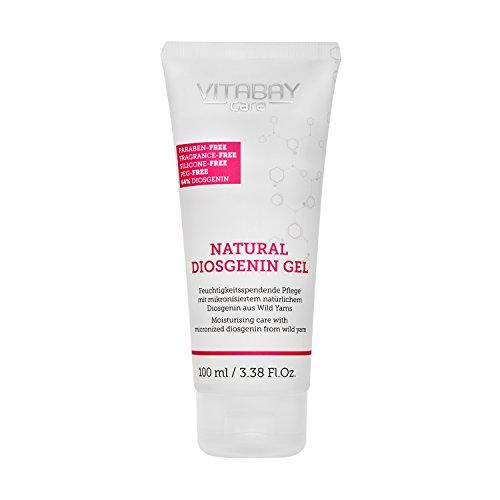 Natural Diosgenin Gel extra stark - 64% Diosgenin (aus 80% Wild Yams Extrakt) - Feuchtigkeitspflege bei hormonell bedingten Hautproblemen mit mikronisiertem natürlichem Diosgenin aus Wild Yams (100 ml)