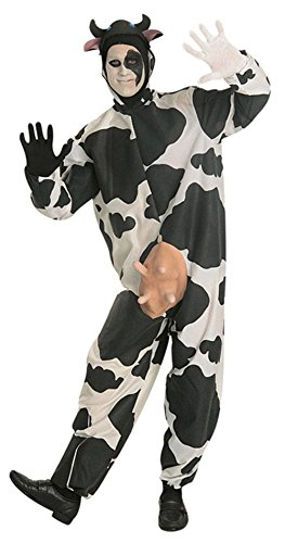 15225 Comical Cow Costume Adult Cow Suit (Cow Costume With Udders)