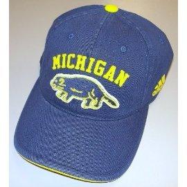 adidas Michigan Wolverines Slope Slouch Flex Hat - Size L/XL - EZK13 ()