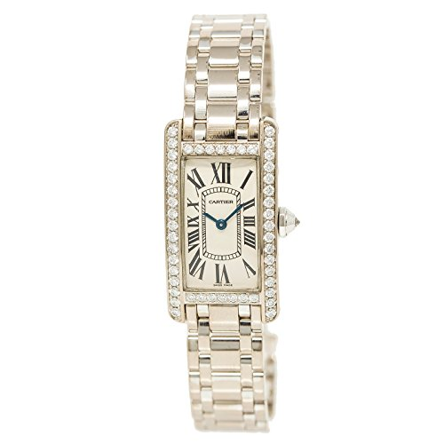 Cartier Tank Americaine Quartz Female Watch WB7073L1 (Certified Pre-Owned)