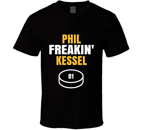 yeoldeshirtshop Phil Freakin Kessel Pittsburgh Hockey Fan T Shirt L Black