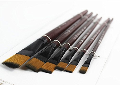 Artists Paint Brush Set Watercolor Acrylic Brush Round Point
