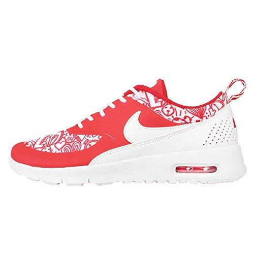 Nike Kids Air Max Thea SE (GS) University Red/White/Black Running Shoe 6 Kids US