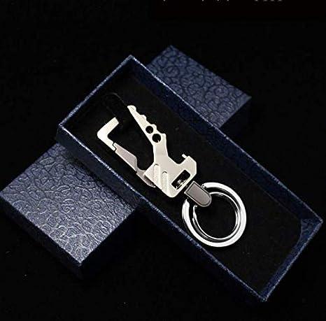 Geschenkbox Thanksgiving Weihnachten KISME Auto Schl/üsselanh/änger Flaschen/öffner,Auto Keychain,Multifunktionale Schl/üsselbund Schl/üsselring /Öffner mit 2 Metall Schl/üsselringen f/ür Geburtstag