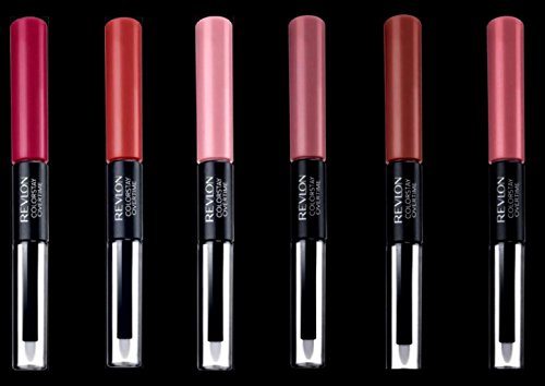 (Pack of 6) Revlon ColorStay Overtime LipColor- Assorted Colors