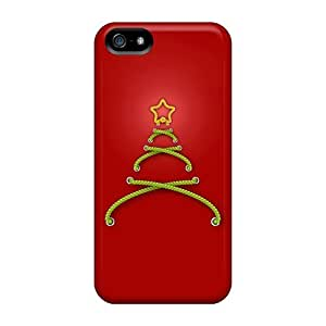 Hot Fashion HRd1911WaRk Design Case Cover Case For Iphone 4/4S Cover Protective Case (stitched Christmas Tree)