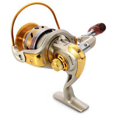 EF 1000 - 7000 Series Metal Spool Spinning Fishing Reel Carretilha Pesca Wheel 10-Ball Bearing 5.5 : 1