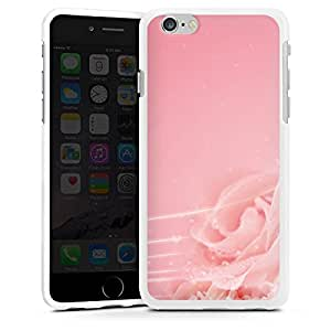 Carcasa Design Funda para Apple iPhone 6 silicona case blanco - Rose-colored Glasses