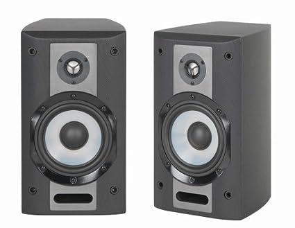 Yamaha NS AM380SBL 5quot 3 Way Bookshelf Speaker System Black