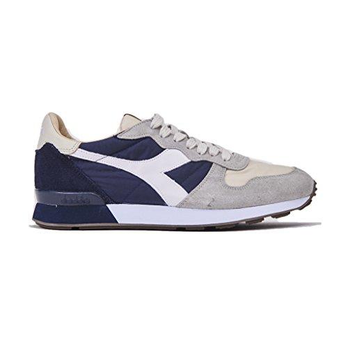 Diadora Heritage Sneakers Uomo, Camaro 172774/25043, vamaro h SW Core, Colore Beige Blu, Nuova Collezione Primavera Estate 2018