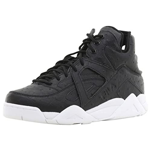 Fila Men's The Cage Ostrich High-Top Sneakers Shoes