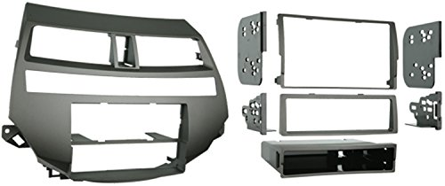 Metra 99-7875T Single/Double DIN Installation Kit for 2008-2009 Honda Accord Vehicles with Dual Zone Climate Control, ()