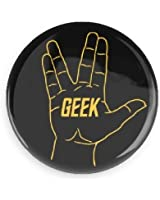 "1.5"" Live Geeky and Prosper Button"