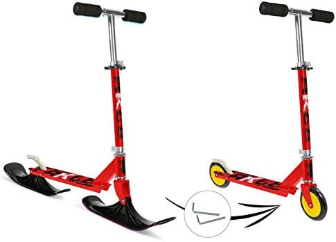 Stamp 2 in1 Scooter - Patinete y nieve Scooter trineo en un ...