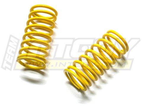 Integy RC Model Hop-ups T3157 22lbs Yellow Spring (2) for 1/10 Revo, E-Revo, Jato, Summit & ()
