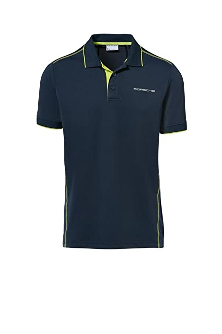 Porsche Herren Sport Polo-Shirt Gr. S - WAP54200S0J: Amazon.es ...