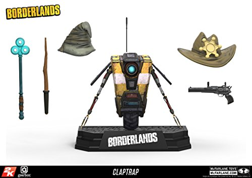 Box Set Mcfarlane Toys - McFarlane Toys Borderlands Claptrap Deluxe Action Figure Box Set