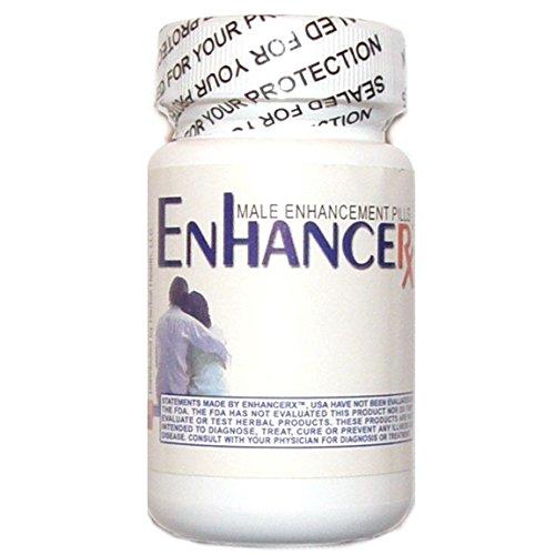 ENHANCE RX EnhancerX All-Natural Male Enhancement Dietary Supplement - Pill Male Enhance