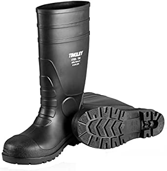 TINGLEY RUBBER Steel-Toe Boots, Black