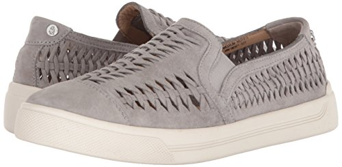 Puppies Gabbie Gray on Casual Gris Hush Woven ladies frost Womens Shoe Suede Slip dqxat