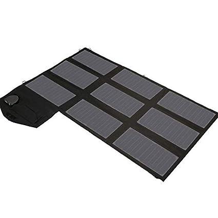 WAHHY Cargador Solar, US ETFE Importado Panel regulador de ...
