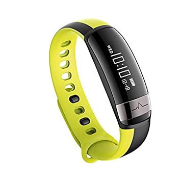 Lemumu M6 Sport Bluetooth Smart Banda de frecuencia cardíaca con Tensiómetro Brazalete Pulsera resistente al agua IP67 para el IOS, Android,verde: ...