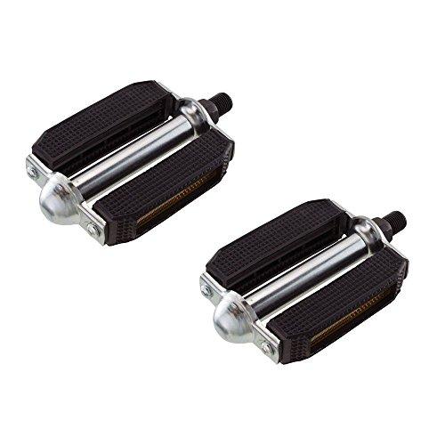 Cruiser Pedal - Fenix Beach Cruiser PVC Metal Bike Pedals, Various Size & Colors (Black, 9/16